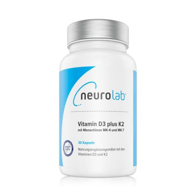 NeuroLab Vitamin D3 plus K2